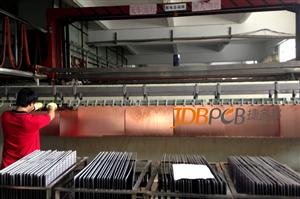 Automatic production line of copper plating